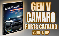 Gen5 Camaro parts catalog