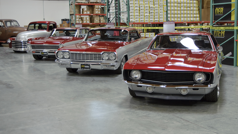 the rest of the classic industries project vehicles
